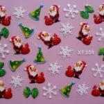3D Christmas Decal designs for craf..
